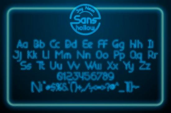 Joy Neon Font free download