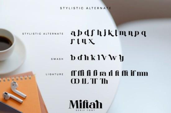 Miftah font download