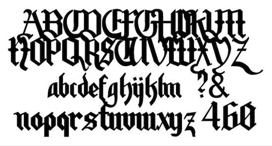 Motorhead Font free