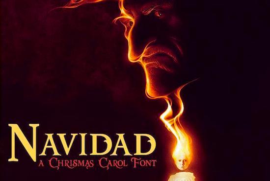 Navidad font free