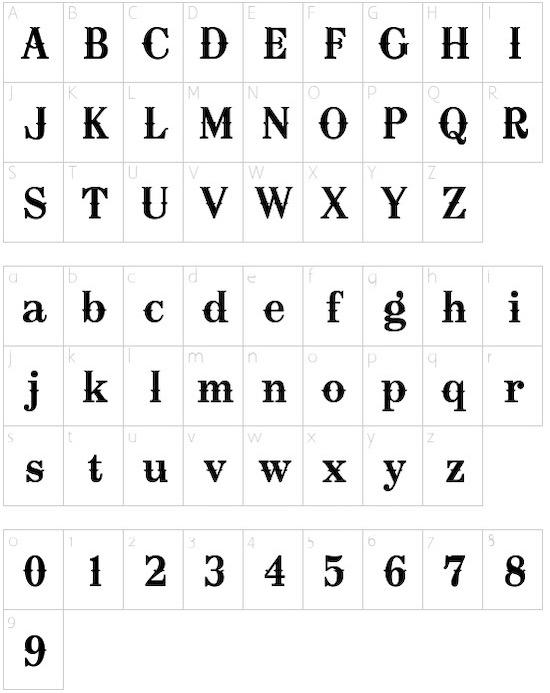 Oklahoma Font free