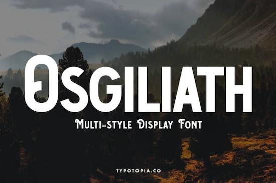 Osgiliath Font free download
