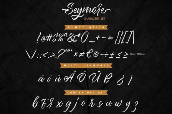 Seymore Font download