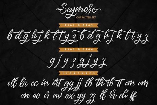 Seymore Font free download