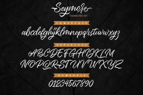 Seymore Font free