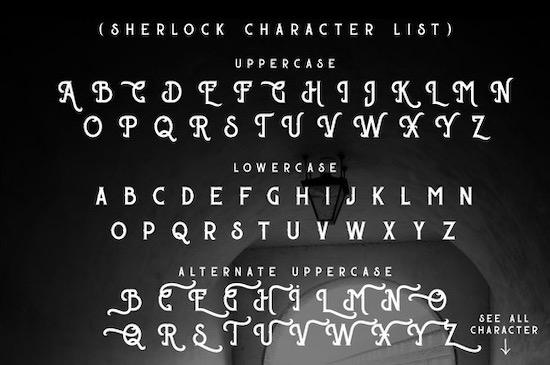 Sherloks font download