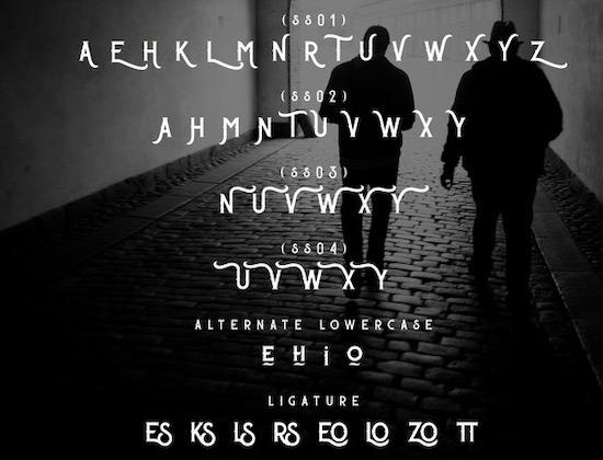 Sherloks font free