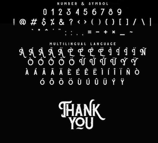 Sherloks font