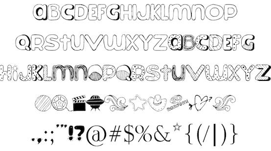 So Random font free