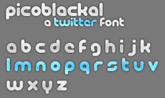 Twitter font free download