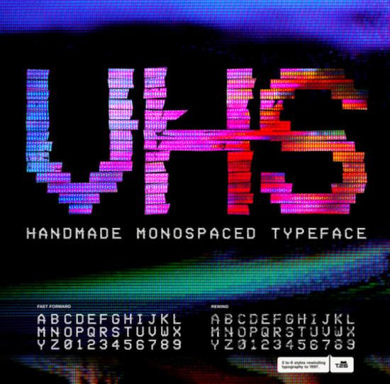 VHS Font