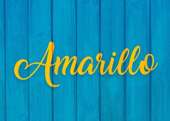 Amarillo font download