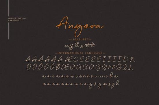 Angora font download