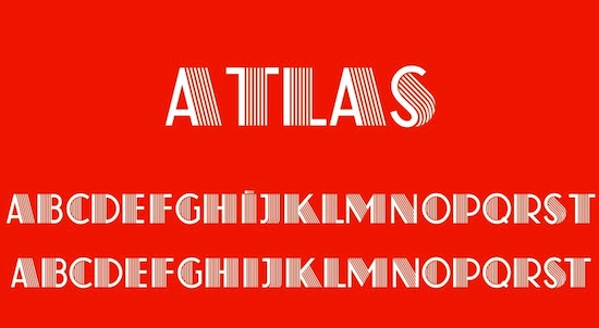 Atlas Regular font free download