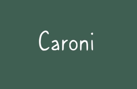 Caroni font free
