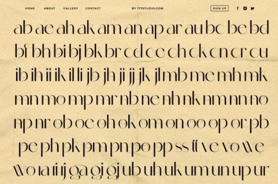 Celattin Font free