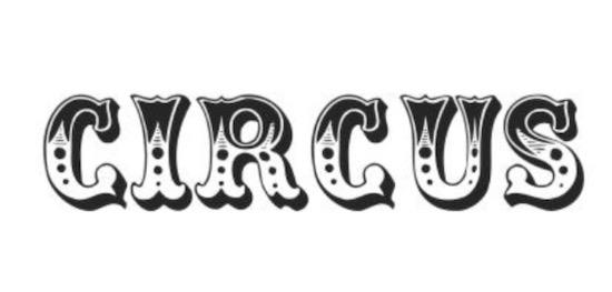 Circus font free