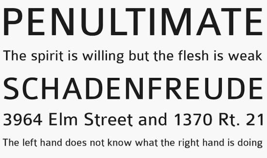 Colaborate font