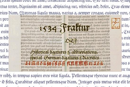 Fraktur font free