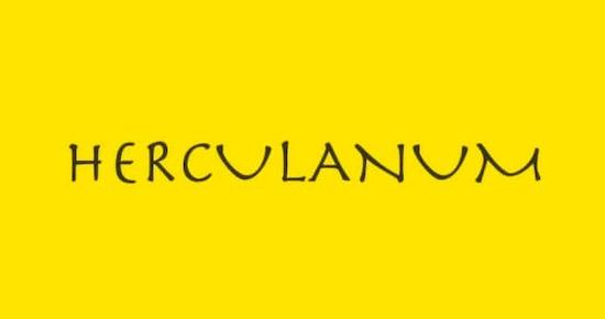 Herculanum font download
