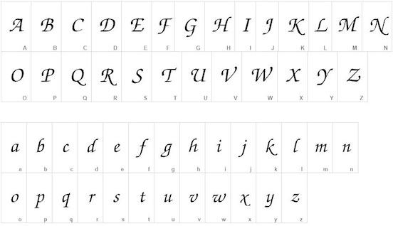 ITC Zapf Chancery font free