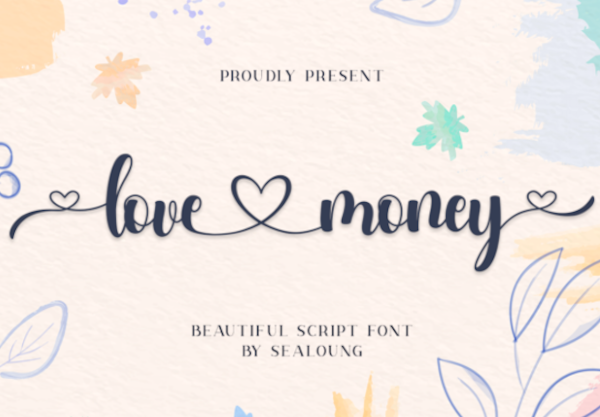 Love Money Font free download
