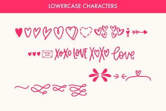 Love Struck font download