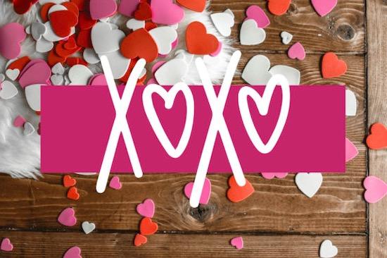 Love Struck font free download