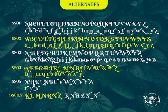 Magical Source font download