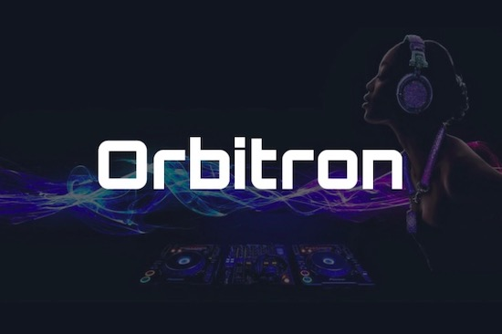 Orbitron font free