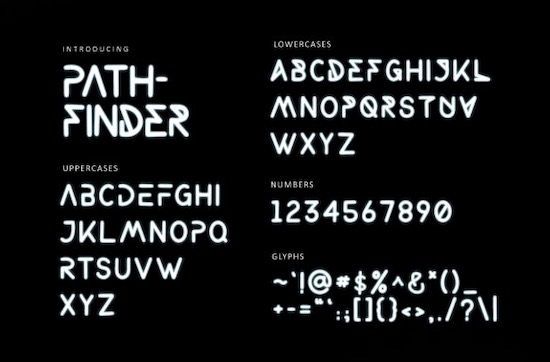 Pathfinder font free