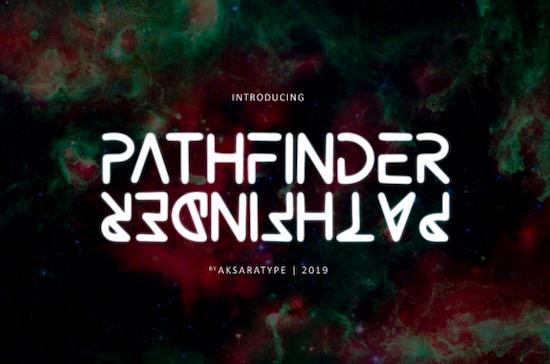Pathfinder font