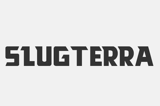 Slugterra font