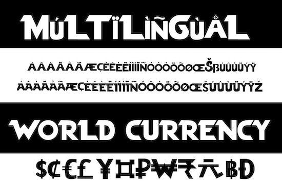 Veztro font download