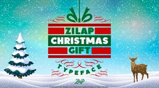 Zilap Christmas font