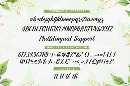 Angellya font free
