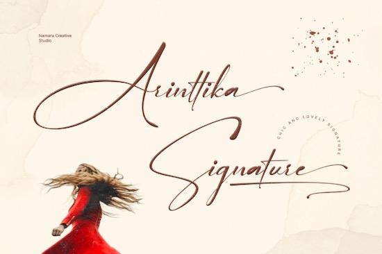 Arinttika font