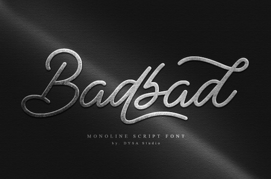 Badbad font free download