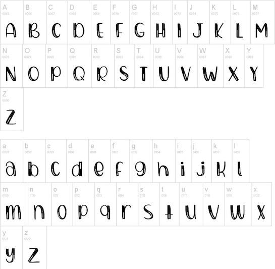 Bubbly font free