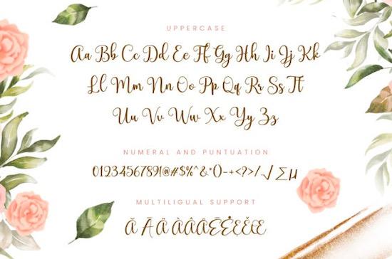 Charmlatte font free