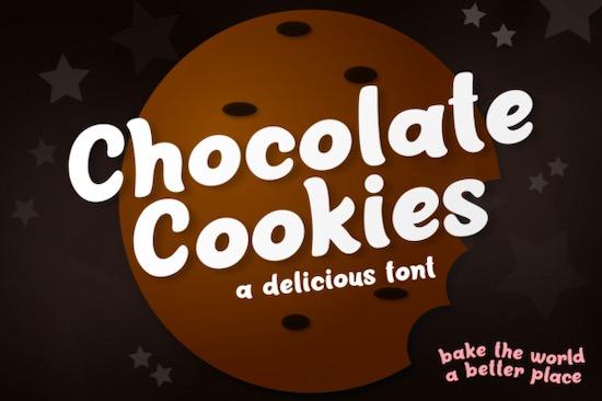 Chocolate Cookies font