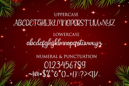 Christday font download
