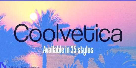 Coolvetica font download