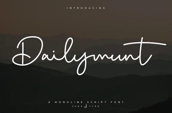 Dailymunt font