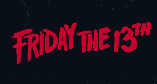 Friday the 13th font free