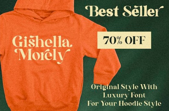 Gishella Morely font free download