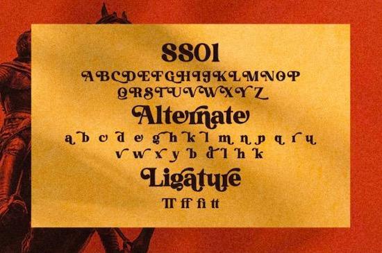 Grand Royal font download