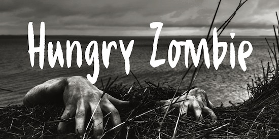 Hungry Zombie DEMO font