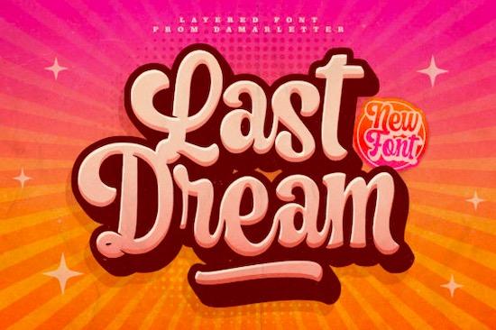 Last Dream font