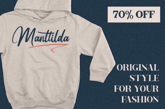 Manttilda font download